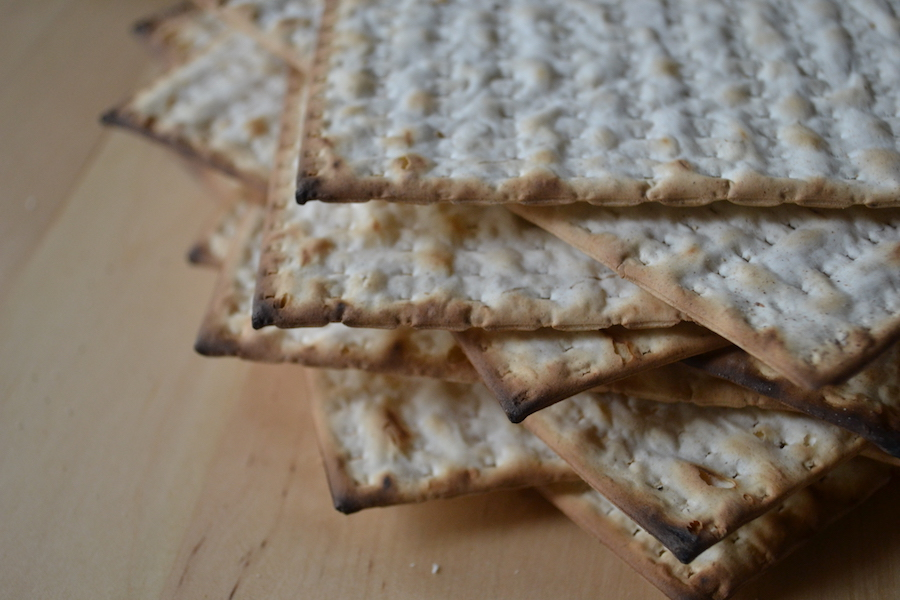 Turn your piles of Passover Matzah into Matzah Brei. Full recipe on BigTasteTinySpace.com
